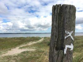 E1 Wanderweg Markierung Eckernförde